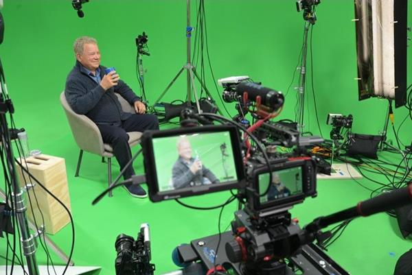 """On his 90th birthday, William Shatner announced he has joined StoryFile, and has made an interactive, conversational AI video using StoryFile Life. """"This is for all my children and all my children's children and all my children's loved ones and all the loved ones of the loved ones,"""" says Shatner. Find out more at storyfile.com."""