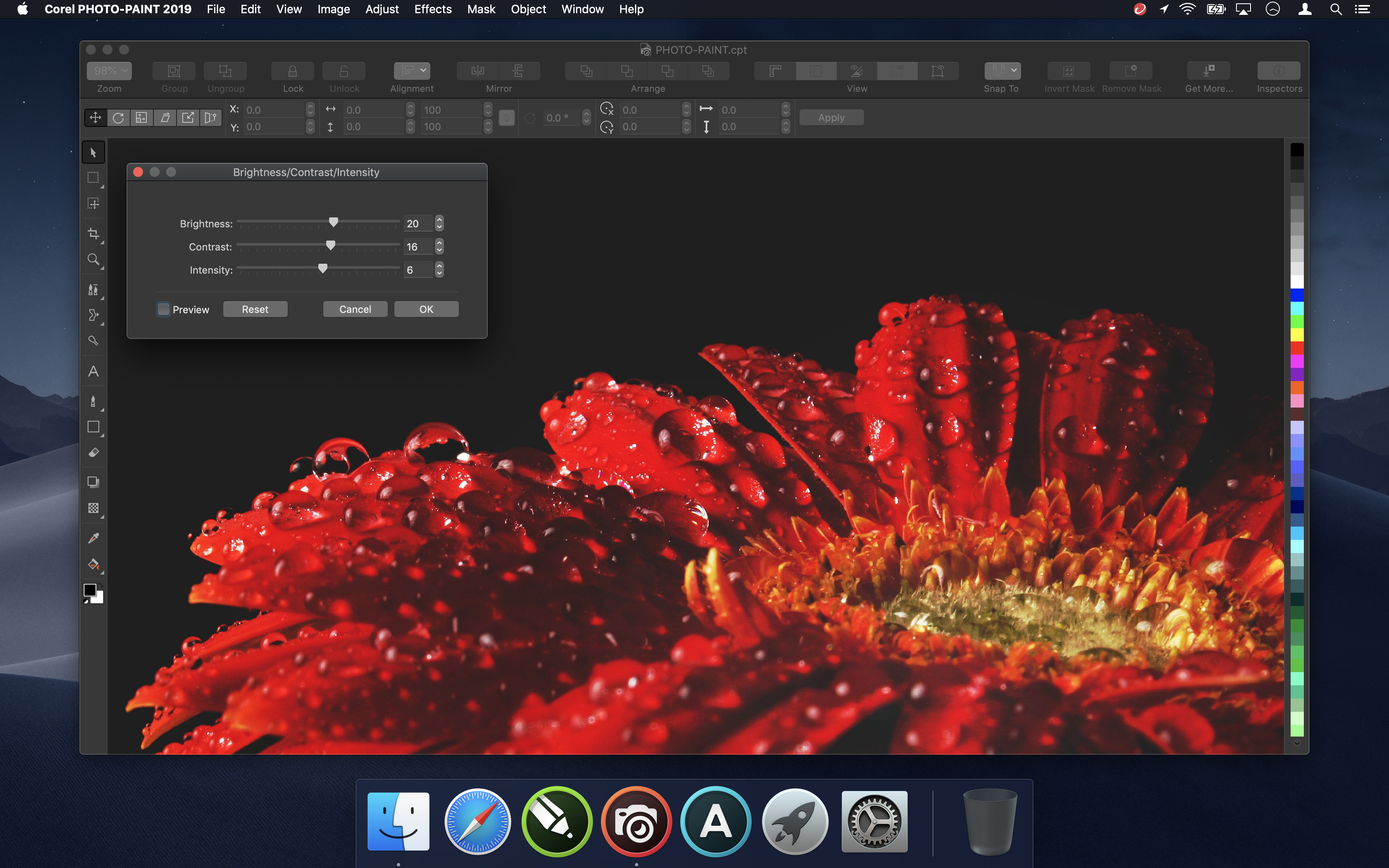 Corel PHOTO-PAINT 2019 for Mac
