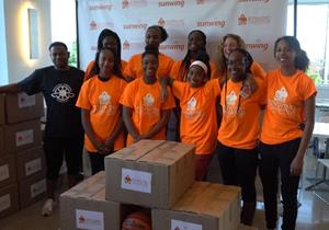 Sunwing Foundation partners with Sisters Keeper Elite Basketball Team