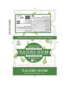 Pear Bellini Tauri-Gum™ Blister Pack Design