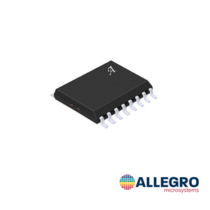 The ACS37800 is offered in a small SOIC16W package, reducing the solution BOM size, cost, and complexity.