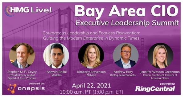 2021 HMG Live! Bay Area CIO Executive Leadership Summit