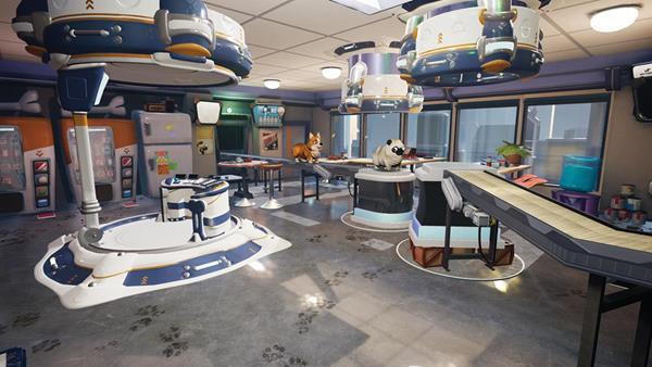 Wet Dog Corp Beta VR Game Environment