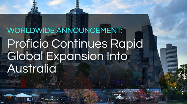 Proficio Continues Rapid Global Expansion Into Australia