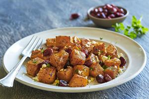 New Roasted Butternut Squash Salad from Fogo de Chão