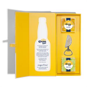 Sugarfina + Corona Light Candy Bento Box® - Open