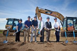 Blue Buffalo Groundbreaking at New Heartland Plant Richmond IN.