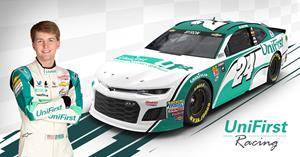 UniFirst Unveils New Race Car Design for Driver William Byron for 2018 NASCAR Season