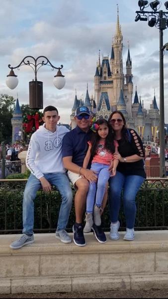 The Javier Cardona Family