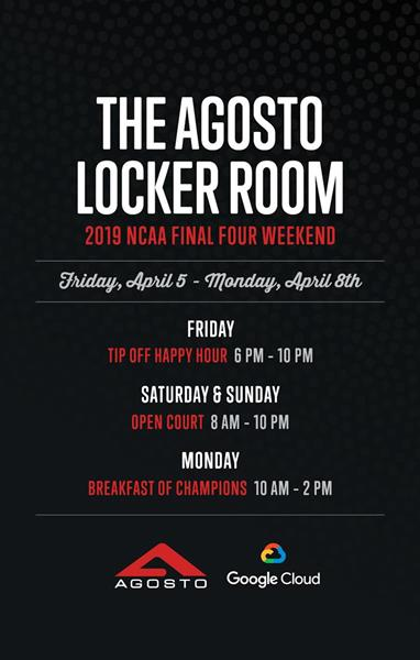Agosto Locker Room Image