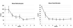 Mean Reticulocytes / Mean Total Bilirubin