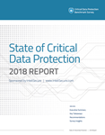 State of Critical Data Protection - report cover