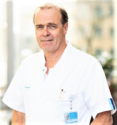 Prof. Casper van Eijck, surgeon and a global leading expert in pancreatic cancer