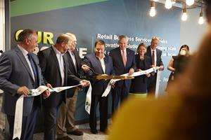 Retail Business Services Cuts Ribbon on New Technology