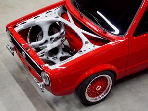 Classic Car Meets Future Technology: VW Caddy Fitted With 3D
