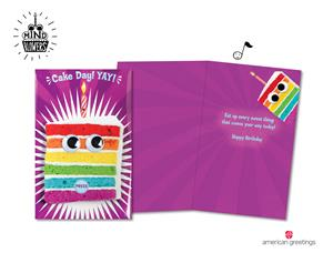 New Mind BlowersTM Birthday Cards From American Greetings Bring Interactive Foodie Fun