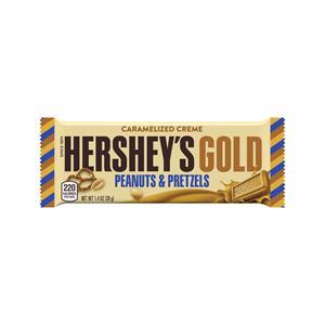 HERSHEY'S GOLD Caramelized Creme Peanuts & Pretzels