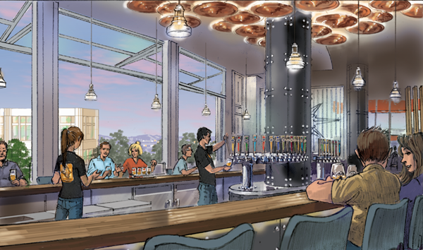 Ballast Point Brewing at Downtown Disney® District – rendering