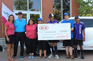 Best-Ever July Sales Helps Kia Canada Inc. Raise $165,820 for Special Olympics Canada