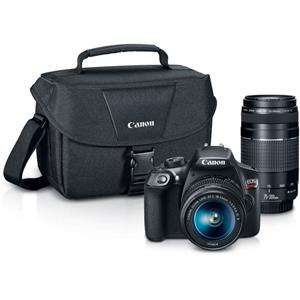 Canon EOS Rebel T6 DSLR Camera with 18-55mm and 75-300mm Lenses Kit