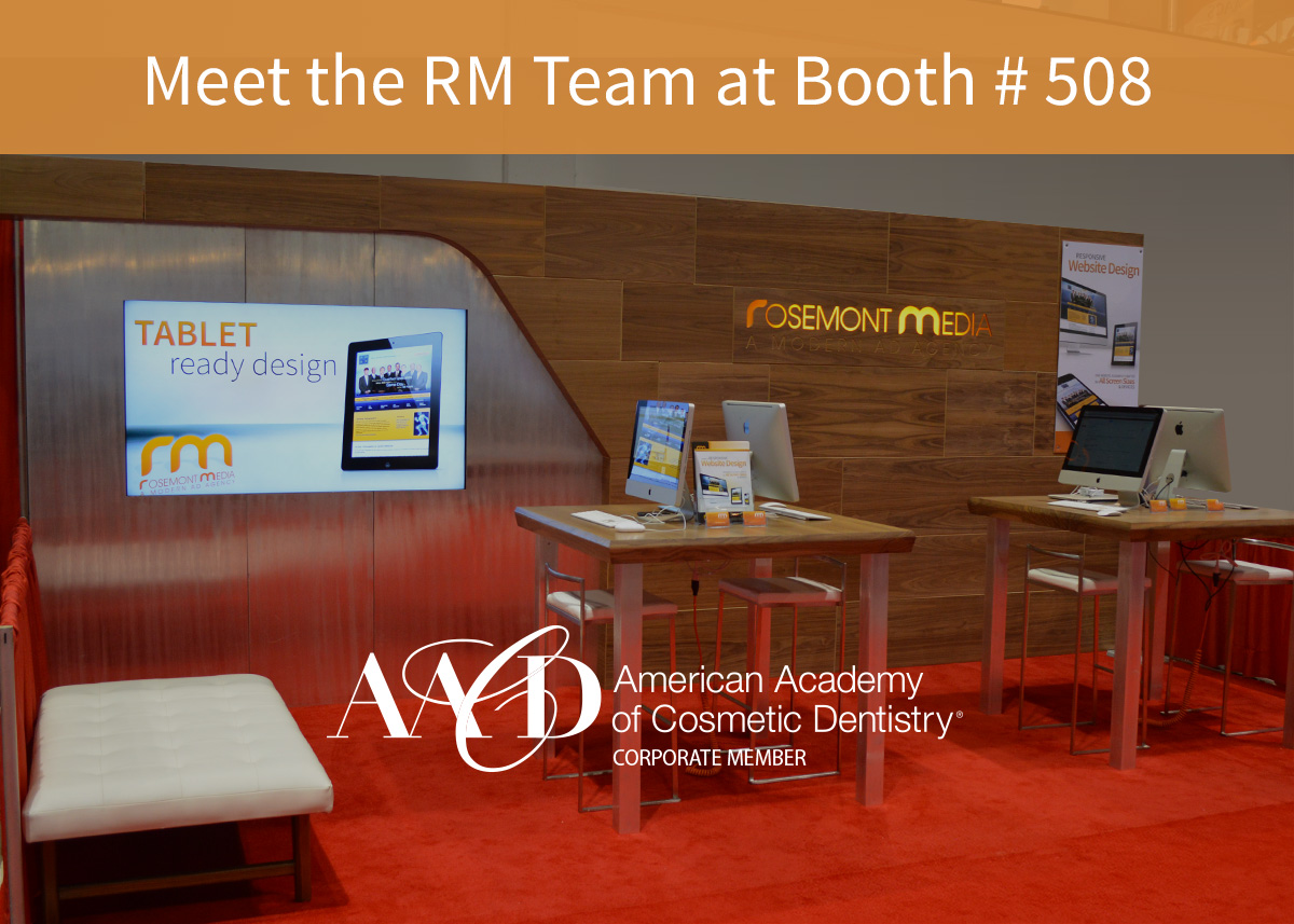 Rosemont Media to Exhibit at Booth #508 at AACD 2018