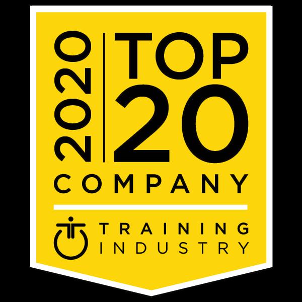 top-20-sales-training-company-award