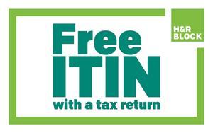 H&R Block Free ITIN