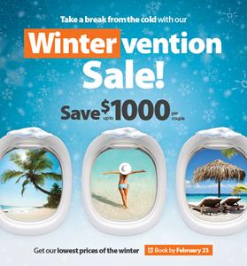 Sunwing Offers Canadians A Sunny Intervention From The Cold With Its