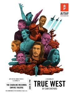 Arts in the Armed Forces to perform True West in Military