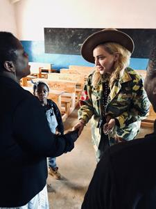 Madonna in Malawi to Advocate for Youth Education and Healthcare