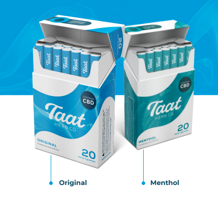 Taat Herb Co. Hemp Cigarettes