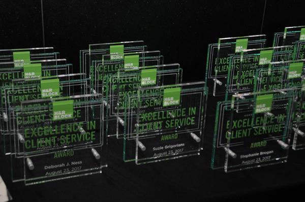 2017 Henry W. Bloch Excellence in Client Service Awards