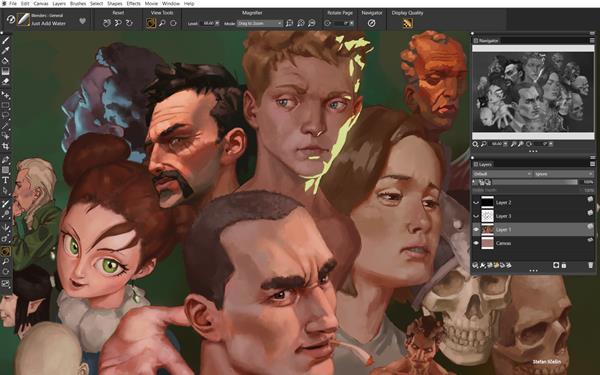 Painter 2022 Grayscale Preview_EN