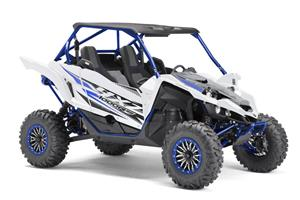 The 2019 YXZ1000R SS SE available in Ultra White