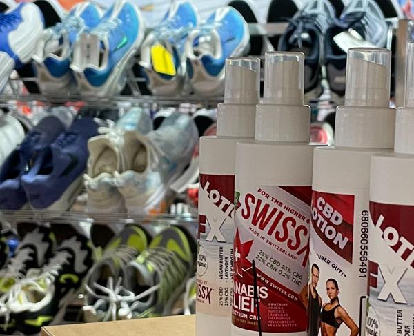 Make your most creative foot rub video with Swissx CBD lotion and you could be in the running for Dr. Crack's $1 million foot massage challenge. Swissx CBD has been shown to ease pain and inflammation as well as stress and anxiety. Find out more at Footbuddys stores at Westfield malls and at Swissx.com .