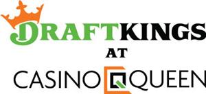 DraftKings at Casino Queen Logo