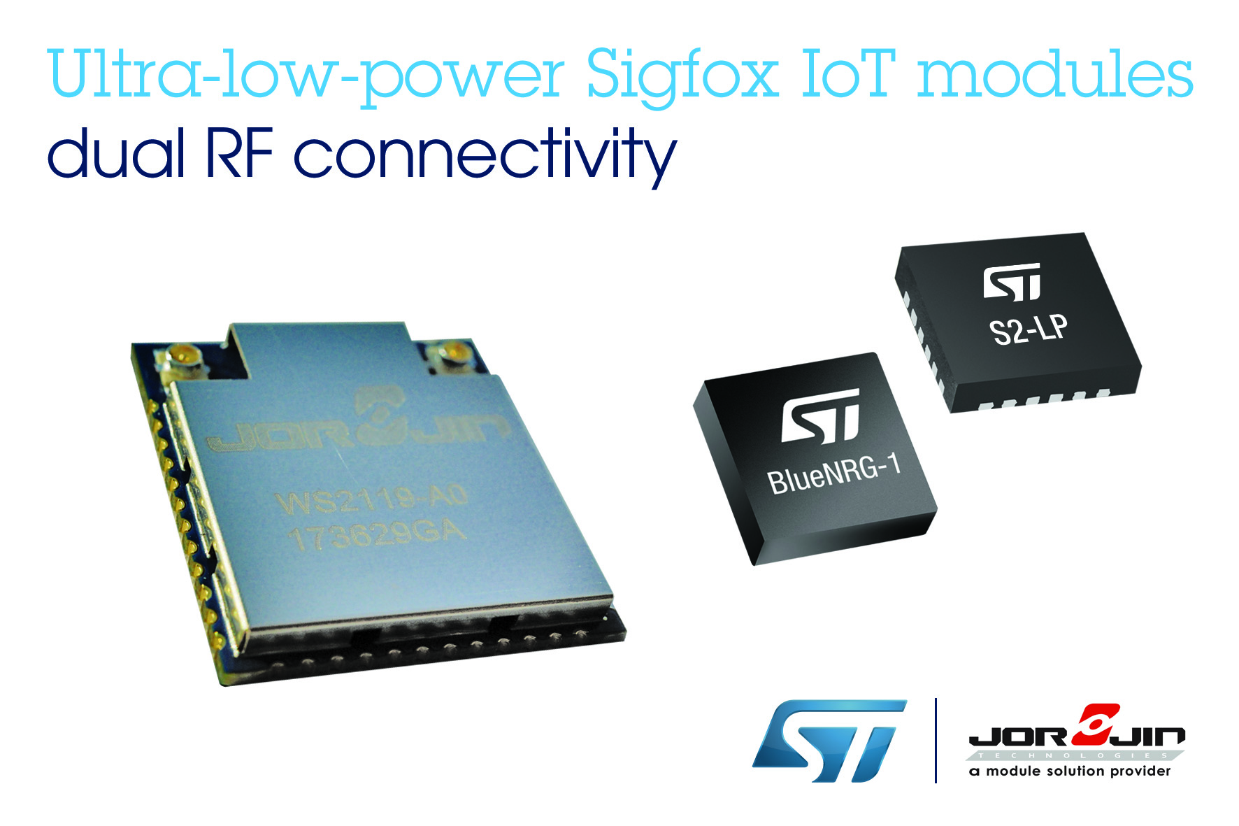 STMicroelectronics and Jorjin Introduce Ultra-Low-Power Sigfox