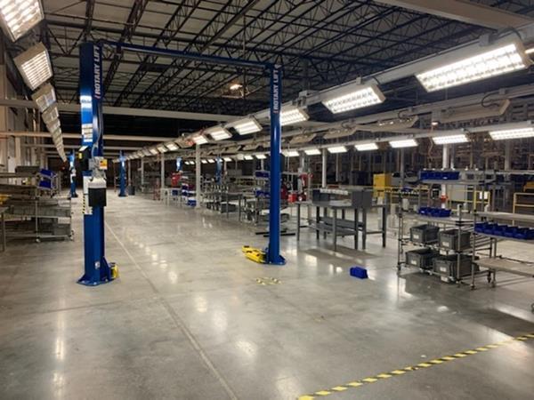 AMEC Vehicle Assembly Line