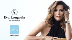 Eva Longoria for TechnoMarine on Evine