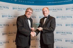 Helix Accepts Frost & Sullivan Award