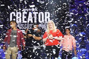 Chloe Alpert at WeWork Creator Awards