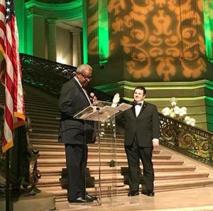 Kevin Birmingham -  Inauguration Gala
