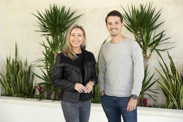 Photo 1 attached from left to right: Candice Brown-McElyea and Olivier Corizzi, partners and co-founders of Avenue Real Estate Services