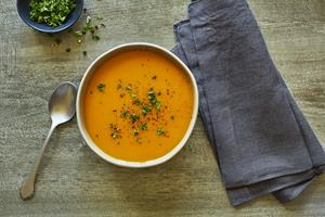 New Butternut & Sweet Potato Soup from Fogo de Chão