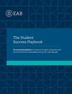 "EAB's ""Student Success Playbook"""