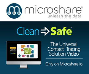 Microshare helps clients navigate pandemic reopening challenges with its wearable Universal Contact Tracing solution