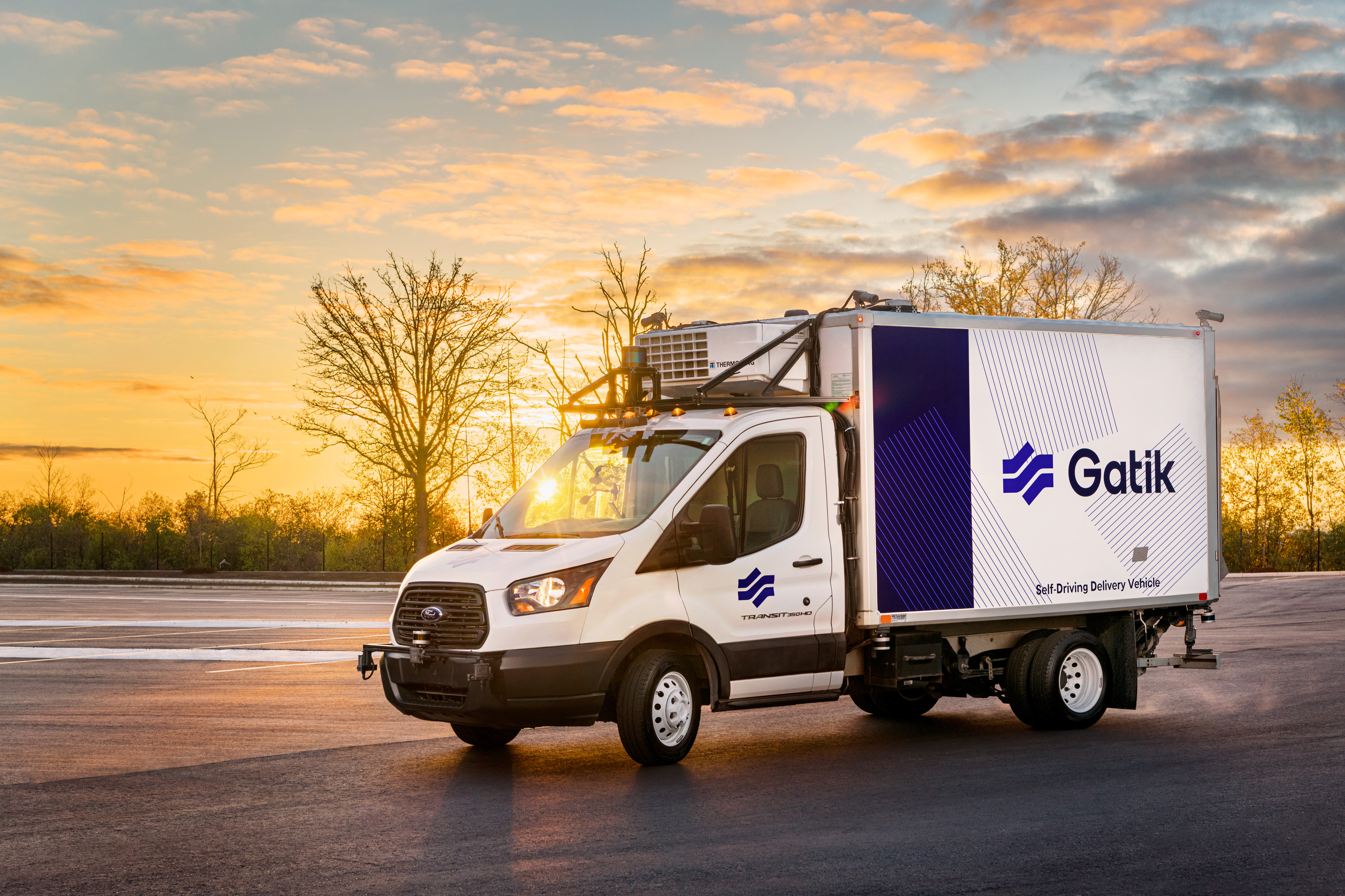 Gatik Autonomous Box Truck
