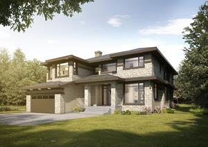 2018 DreamLife Lottery Dream Home - Front View