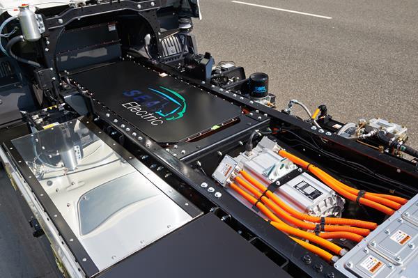 La solution propriétaire de SEA Electric SEA-Drive® 120 avec 138 kilowattheures (kWh)