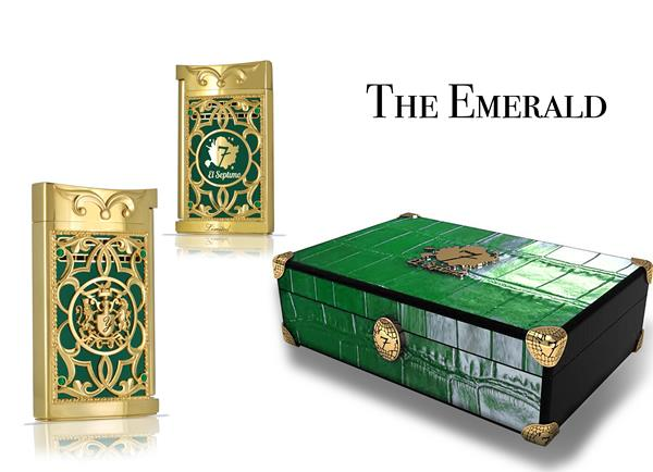 Lighters come in a beautifully-made custom crocodile travel case that matches its stone and is decorated with gold hardware and embellishments.
